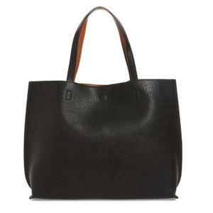 Nordstrom Street Level Vegan Leather Tote Bag